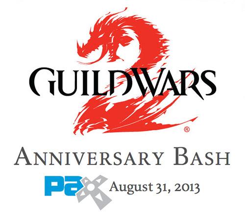 Guild Wars 2 Anniversary Bash PAX Prime