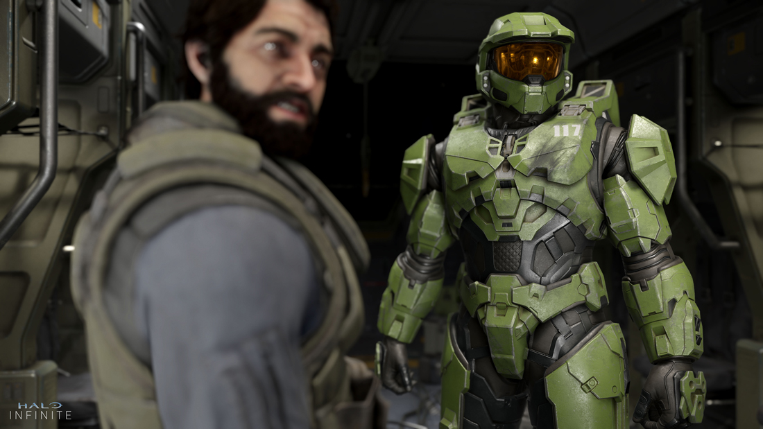 Work day is over: Halo Infinite gameplay revealed