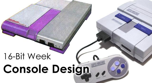 16-Bit Week: Super Nintendo Console Design