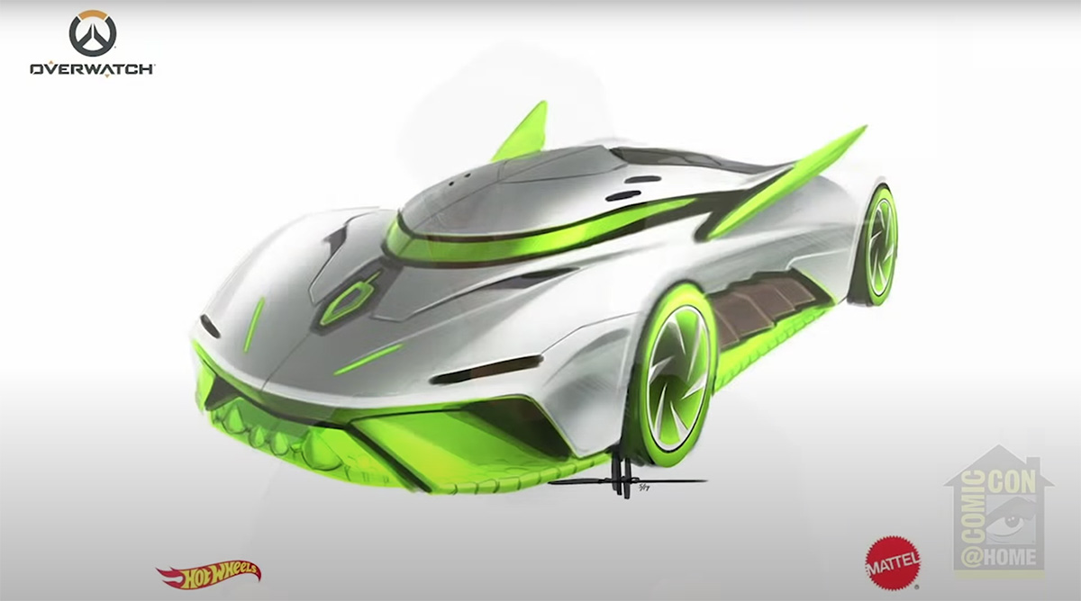 Hot Wheels designers show off new cars at SDCC @ Home