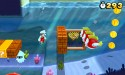 Super Mario 3D Land underwater