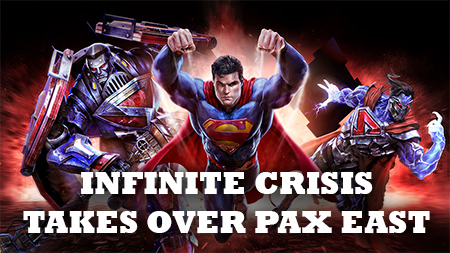Infinite Crisis PAX East Party