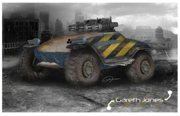 Gareth Jones' Concept Vehicle