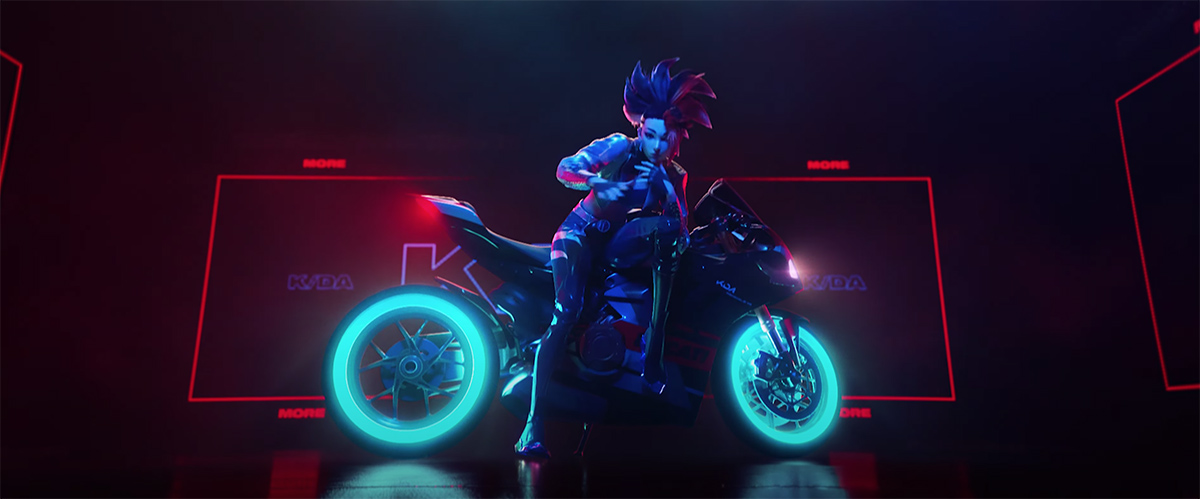 Ducati partners with Riot Games to debut concept bike in new K/DA video