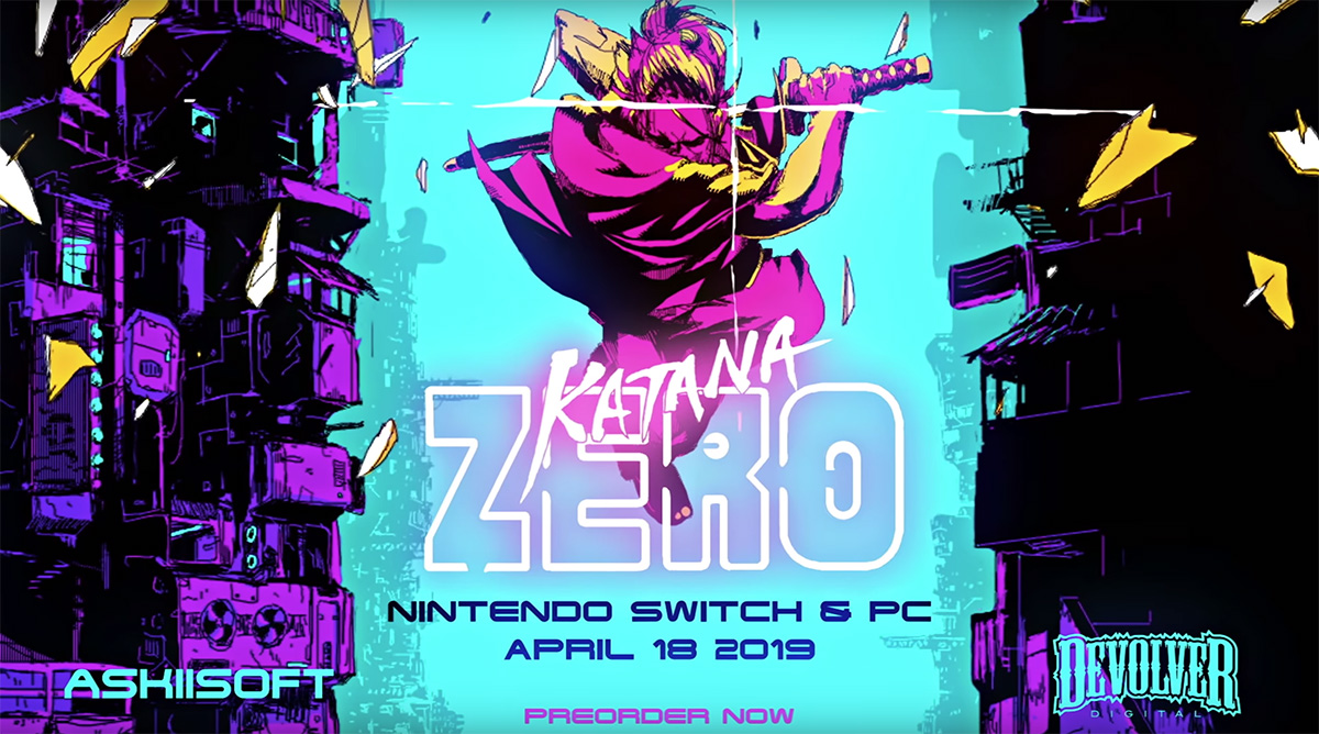 [PAX East 2019] Hands-on with the fantastic Katana Zero