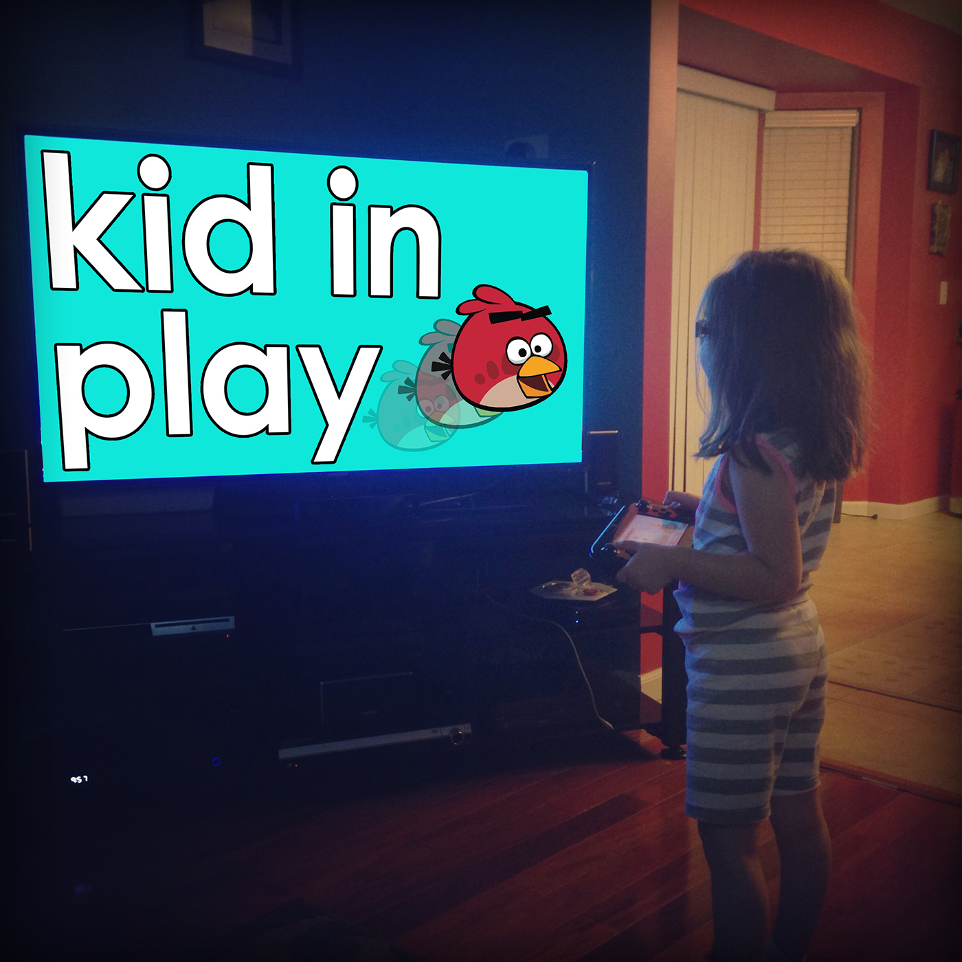 Kid In Play: We're making a game!