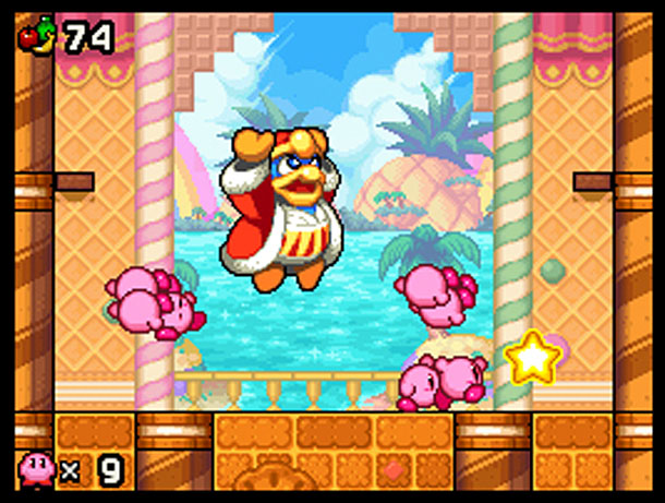 The Kirbys take on King Dedede