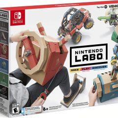 Nintendo's third LABO set is focused on vehicles