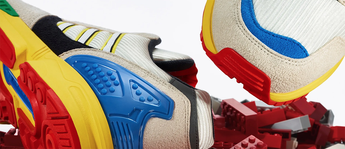 LEGO and Adidas partnering on shoes