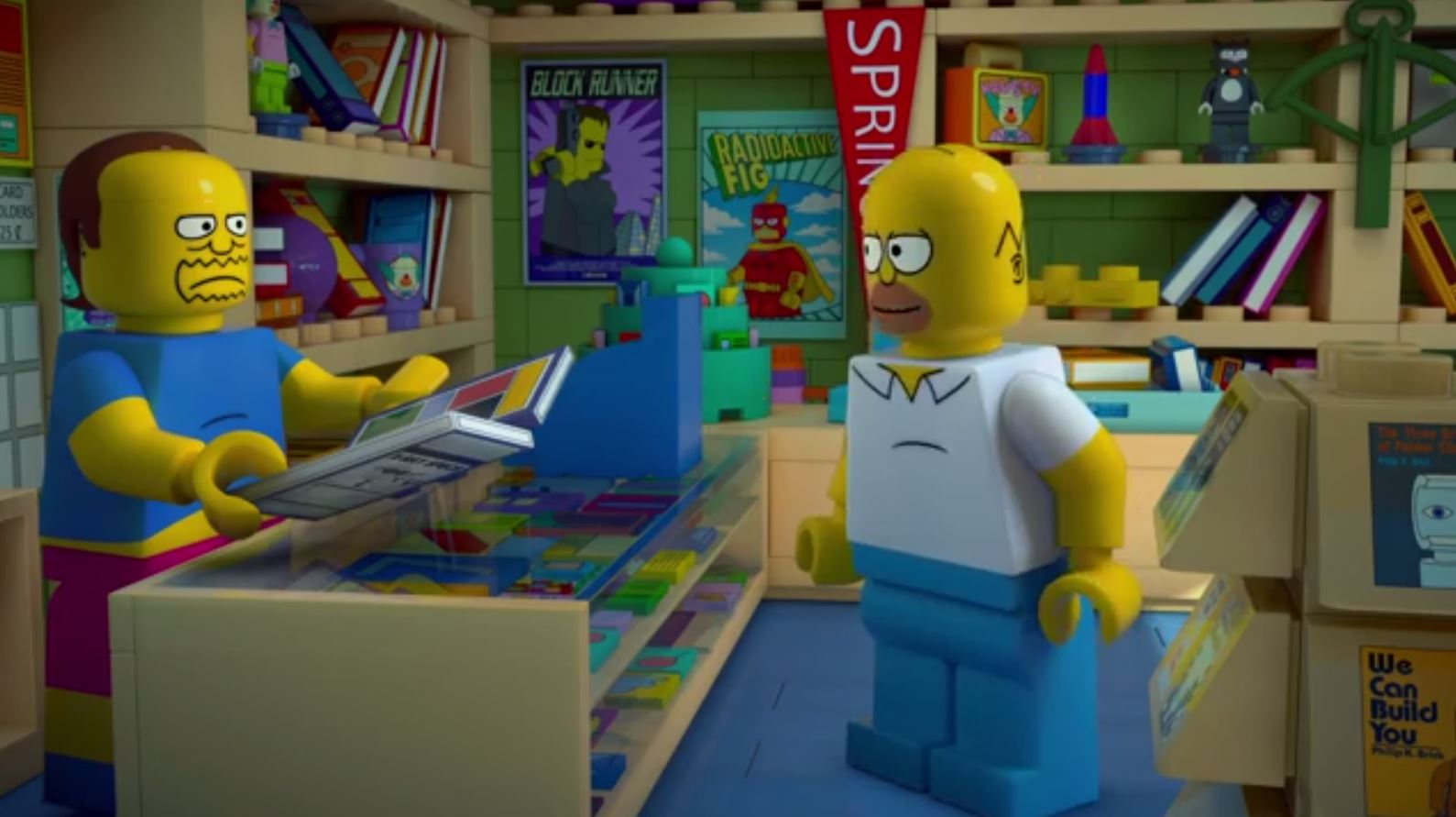 The Simpsons go LEGO with new episode
