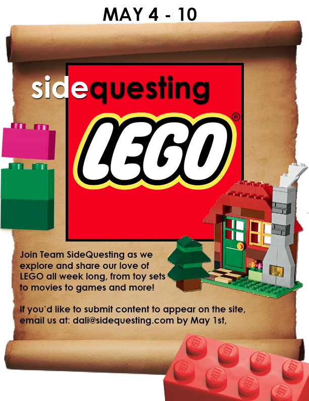 It's LEGO Theme Week at SideQuesting!