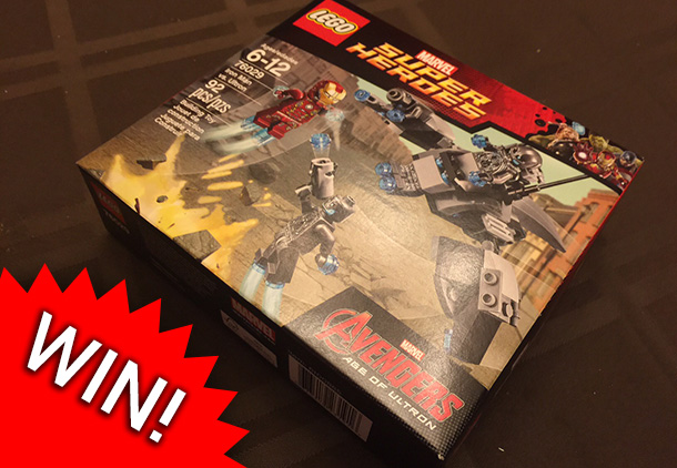 LEGO Week Giveaway: WIN! Avengers – Age of Ultron LEGO set [Update: Winner!]