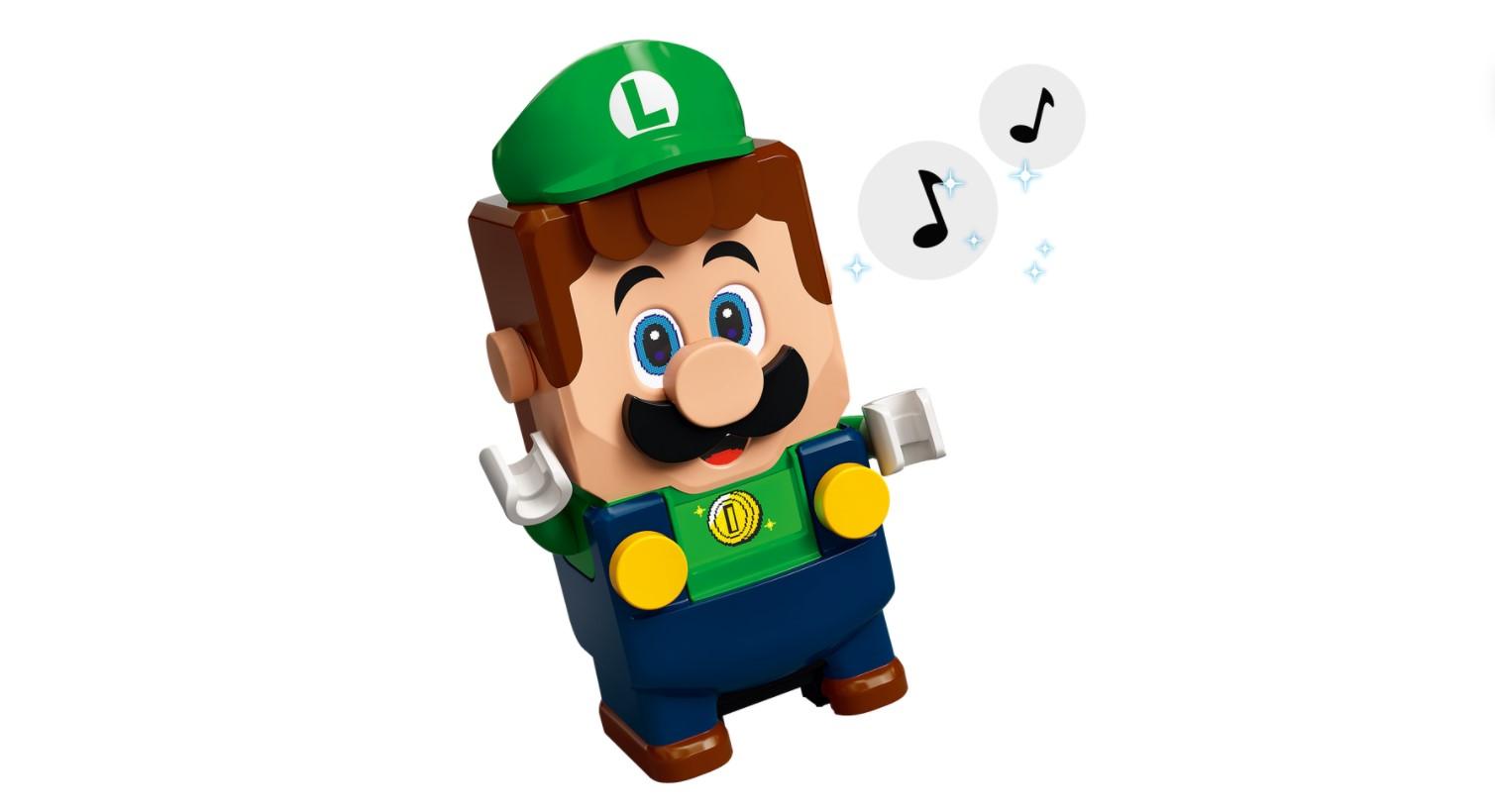 Luigi officially joins LEGO Super Mario