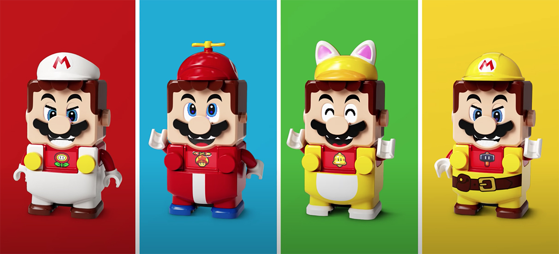 LEGO Super Mario receives new duds