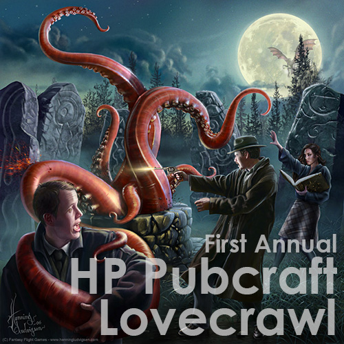 Lovecraft PAX Prime 2013 Party