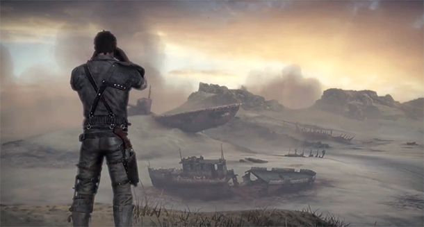 Mad Max gameplay reveal trailer shows us guns, cars, and desolate wastelands. And a little gameplay.