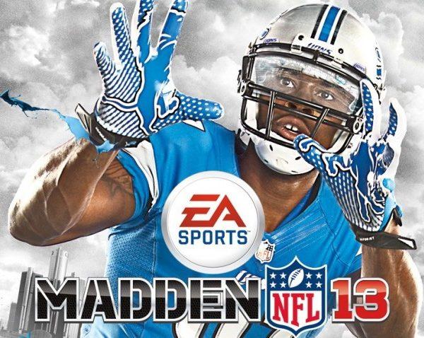 Madden 13 cover Calvin Johnson