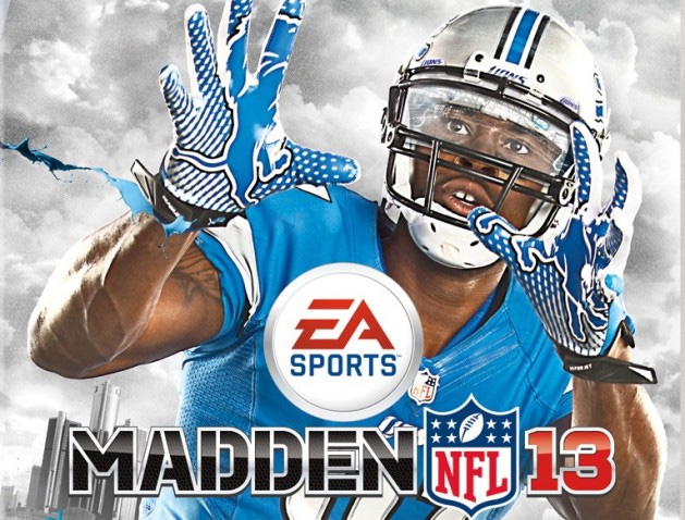 Madden 13 cover Calvin Johnson