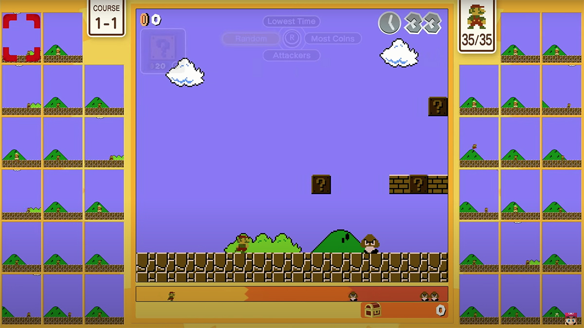 Super Mario Bros gets a 35-player battle royale game
