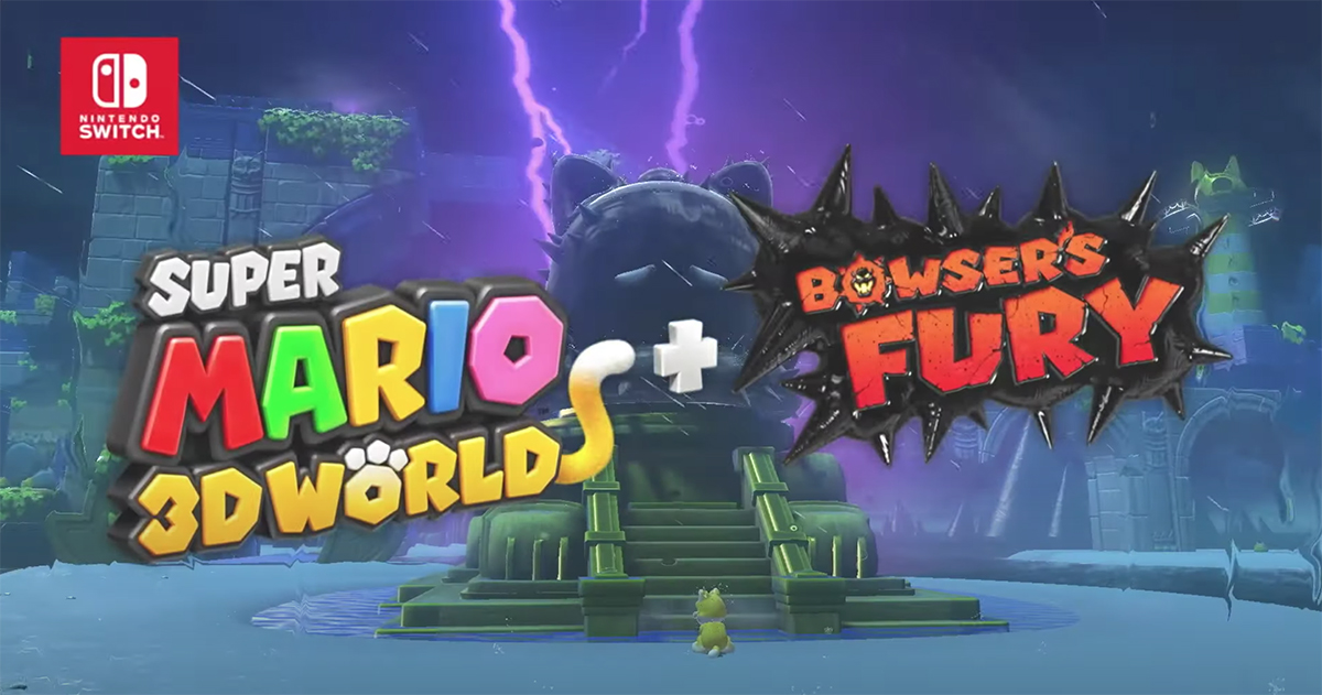 Super Mario 3D World + Bowser's Fury launching next year