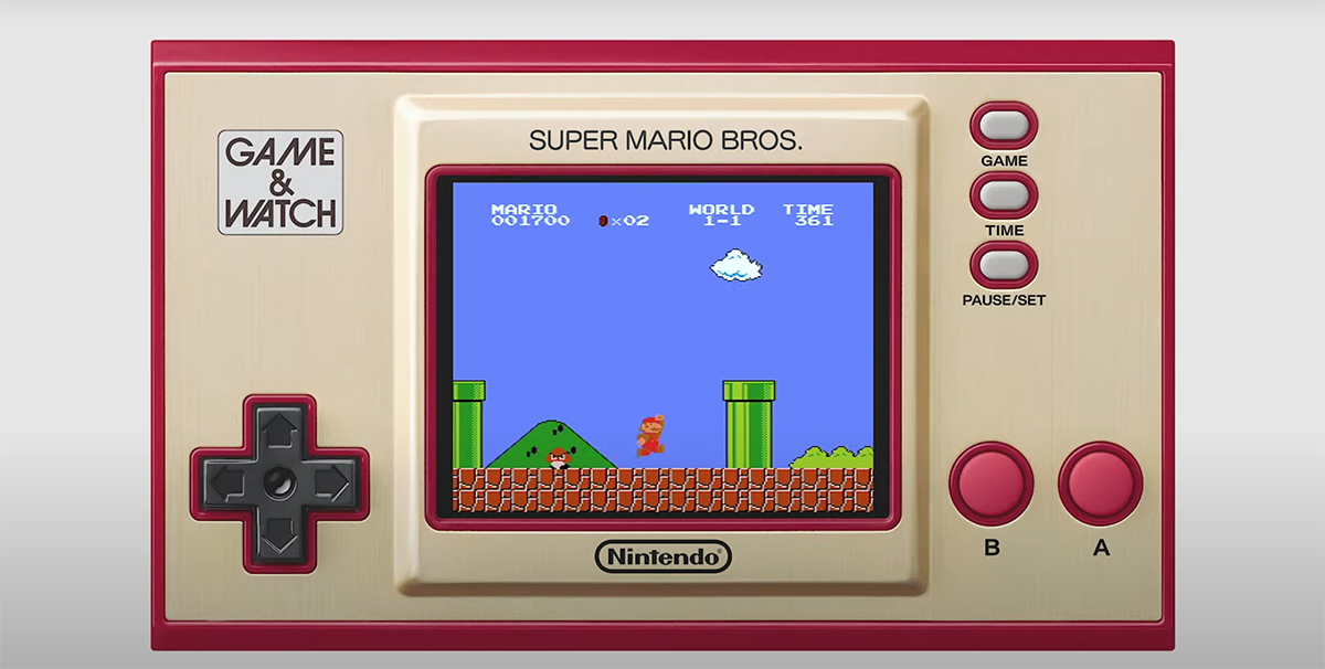 Game & Watch: Super Mario Bros coming this year