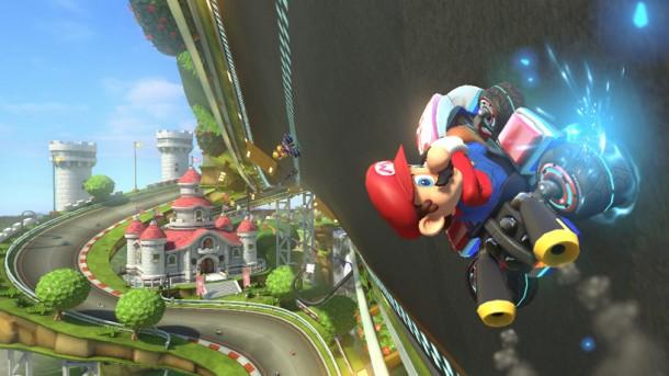 Mario in Mario Kart 8 E3 2013