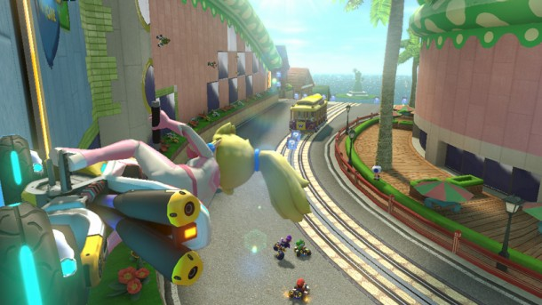 Princess Peach in Mario Kart 8 E3 2013