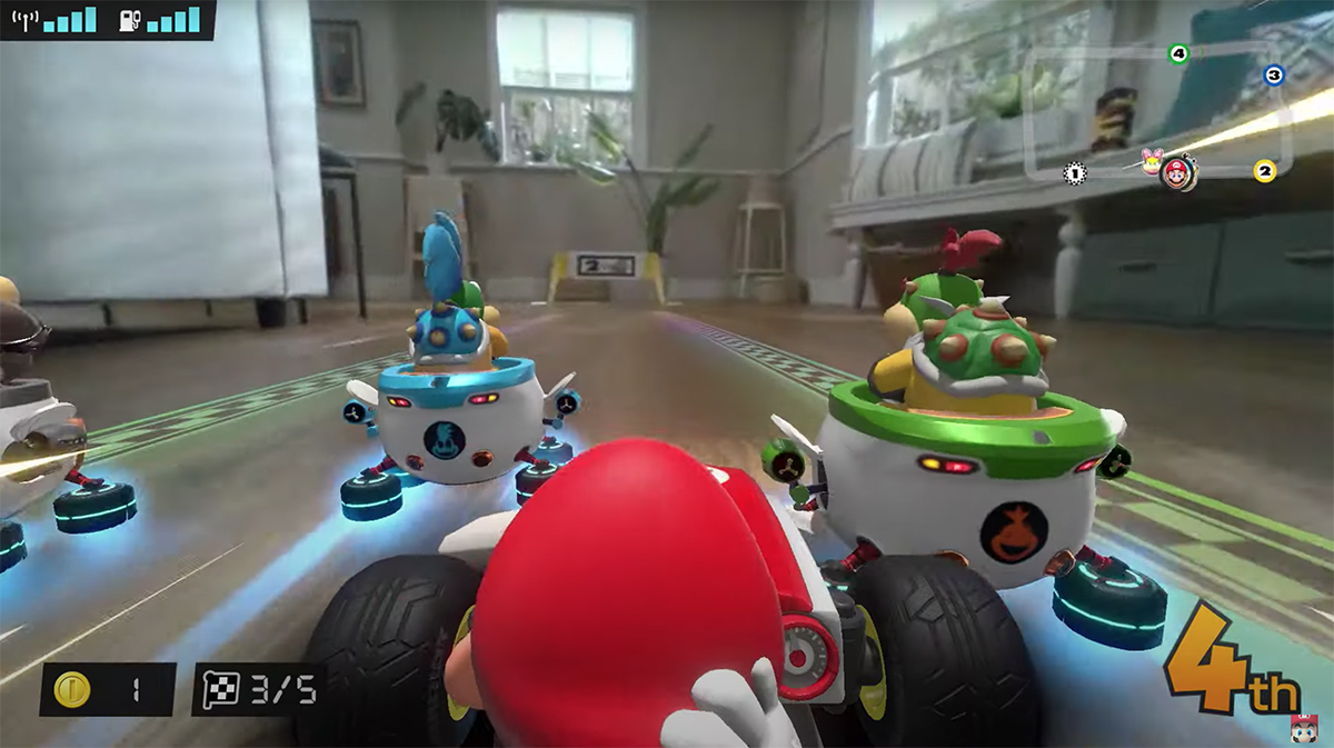 Mario Kart Live is augmented reality RC car mayhem