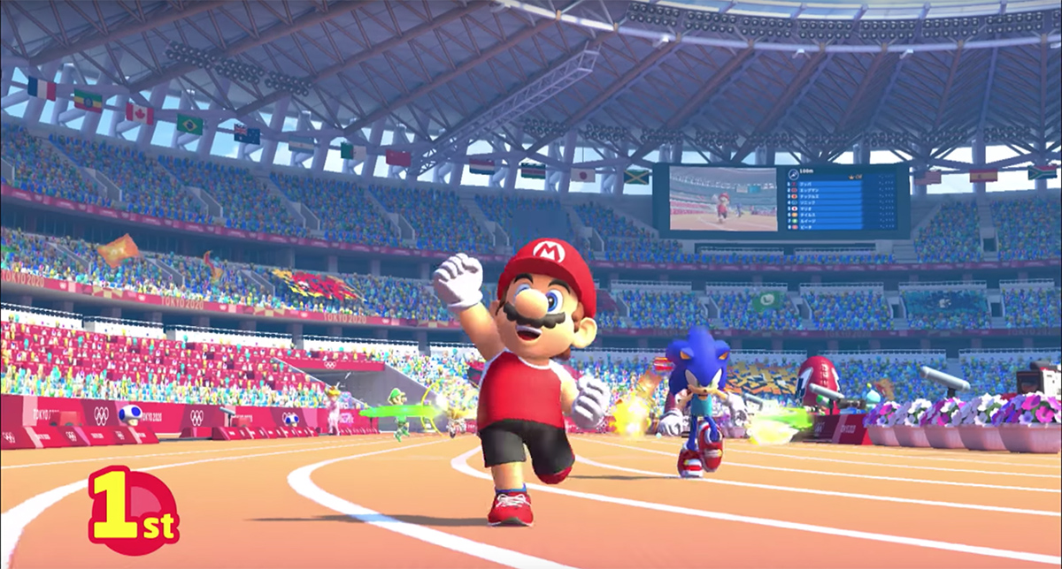 sega announces sonic mario and its licensed 2020 olympic. Black Bedroom Furniture Sets. Home Design Ideas