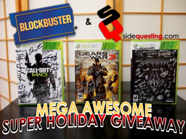Blockbuster & SideQuesting Xbox 360 Holiday Contest