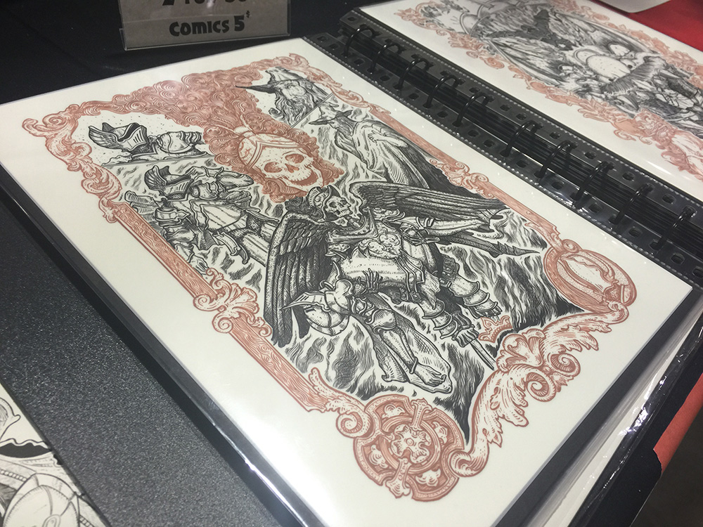 MCCC 2015: JM Dragunas and the art of linework
