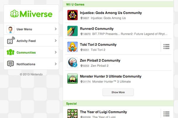 Miiverse on PC, Mobile