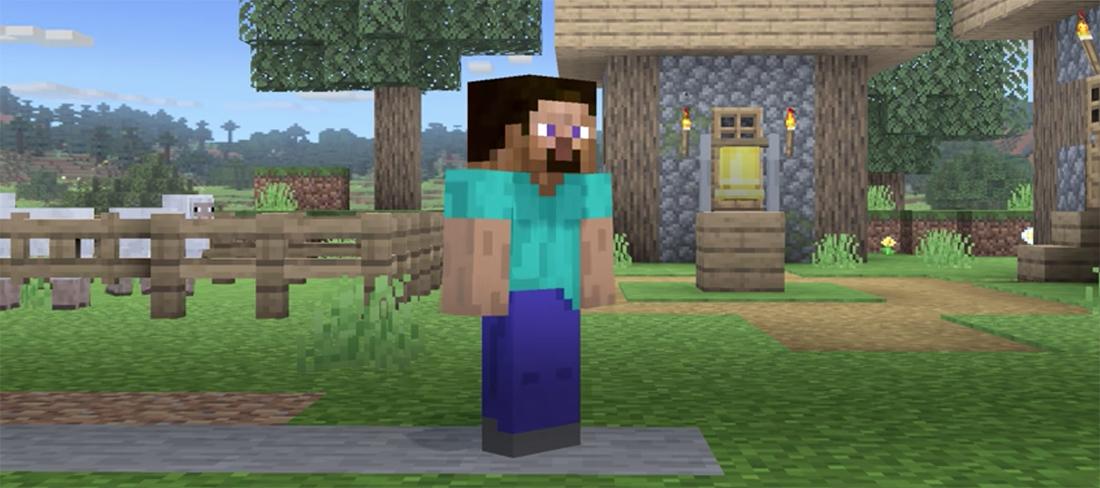 Minecraft's Steve arrives in Smash Bros on October 13