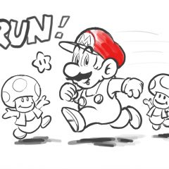 Watch Nintendo's Shigeru Miyamoto draw Super Mario Run concept art on an iPad
