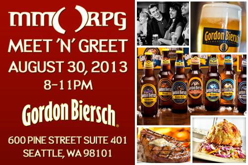 MMORPG Meetup PAX Prime 2013 Party