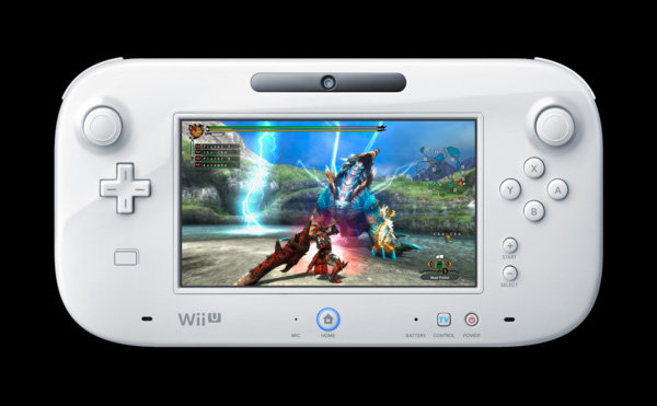 Monster Hunter 3 Ultimate WIi U GamePad