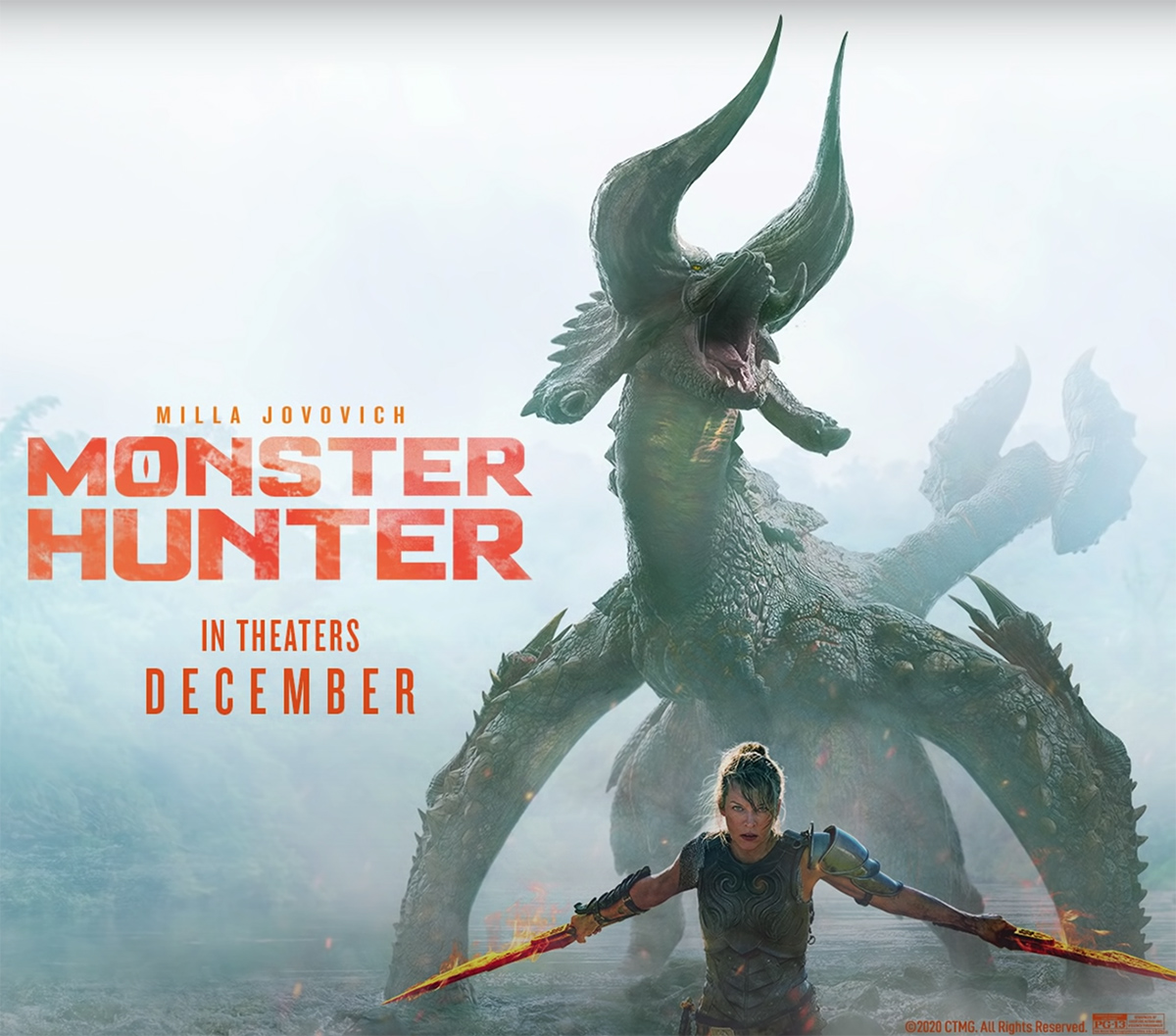 The first full trailer for the Monster Hunter movie is here