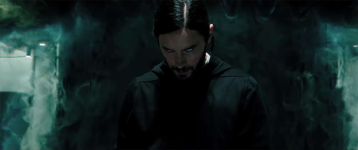 The first trailer for Morbius introduces us to the vampire menace