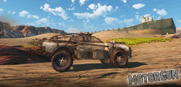 Kickstart My Heart: Pixelbionic's Motorgun brings vehicular combat from a dream team