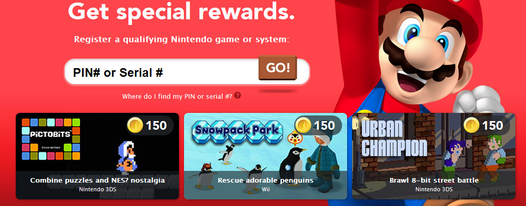 Club Nintendo May Rewards