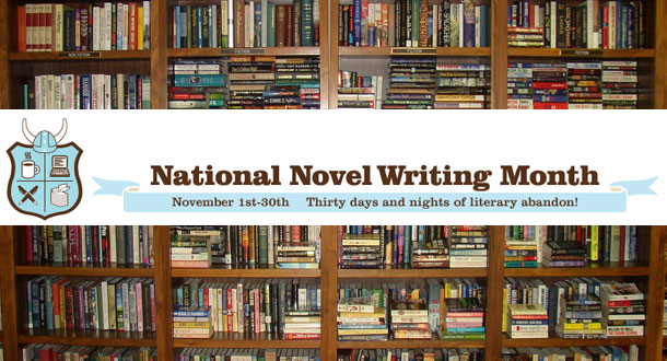 Join the SideQuesting staff for NaNoWriMo this November