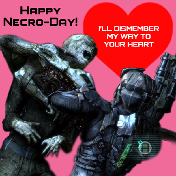 Dead Space Valentine's Day