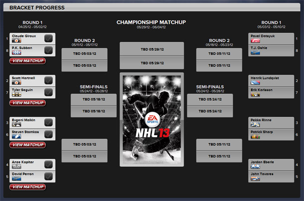 NHL 13 cover vote