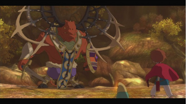 Ni no Kuni boss battle