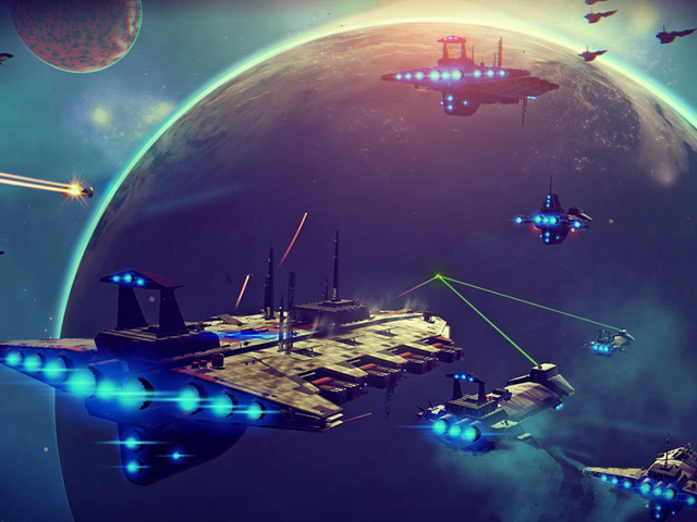 E3 2015: No Man's Sky looks amazing, but still has me cautious