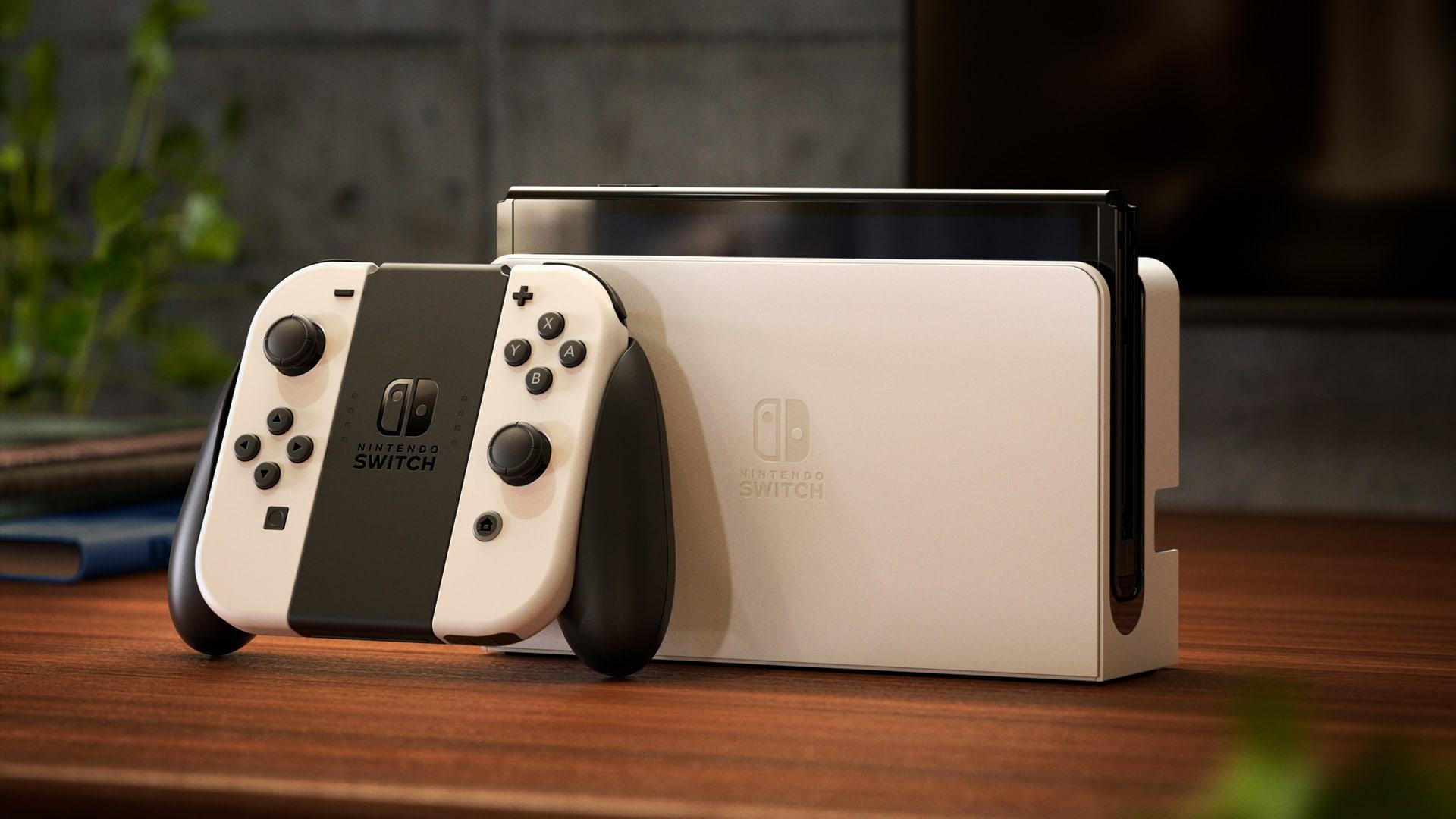 Nintendo reveals new Switch OLED model