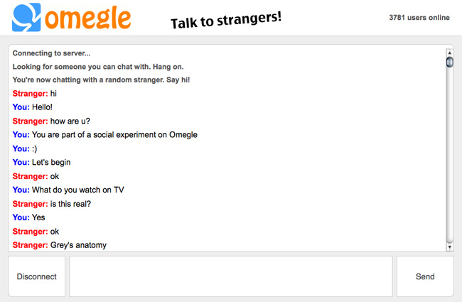 Hot chat omegle 14+ BEST