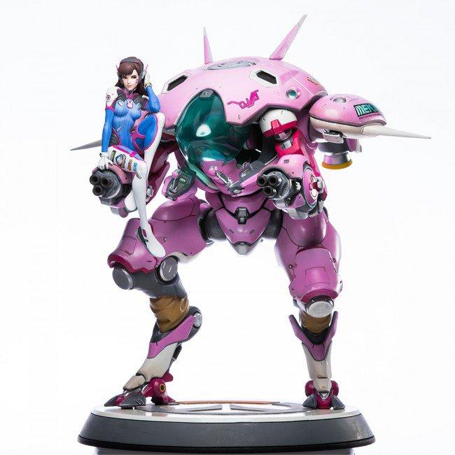 Overwatch D.Va gets her own statue