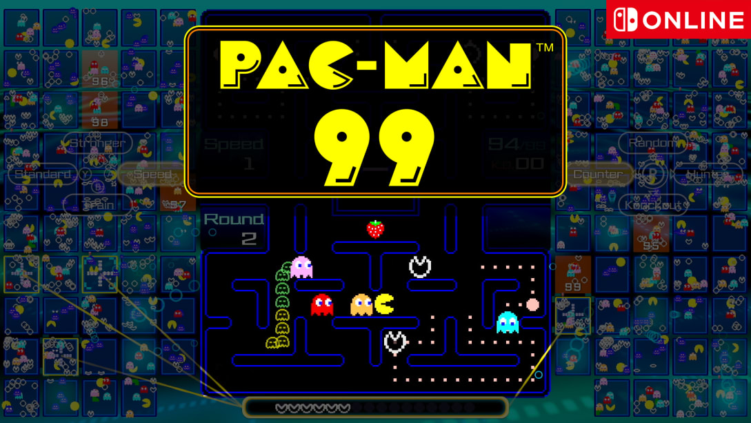Nintendo reveals Pac-Man 99 battle royale game