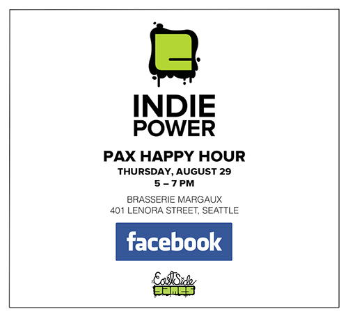 Indie Power Facebook PAX Prime party